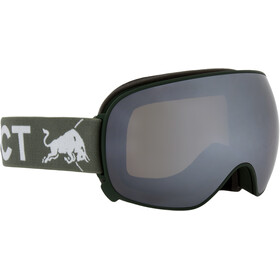 Red Bull SPECT Magnetron Lunettes de protection, olive green/silver snow